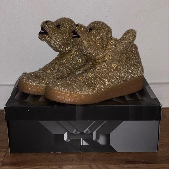 "Jeremy Scott x Adidas Other - Adidas Jeremy Scott — ""Bear Tinsel"""